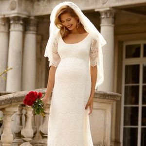 Tiffany Rose Maternity Verona Wedding Gown Size 2